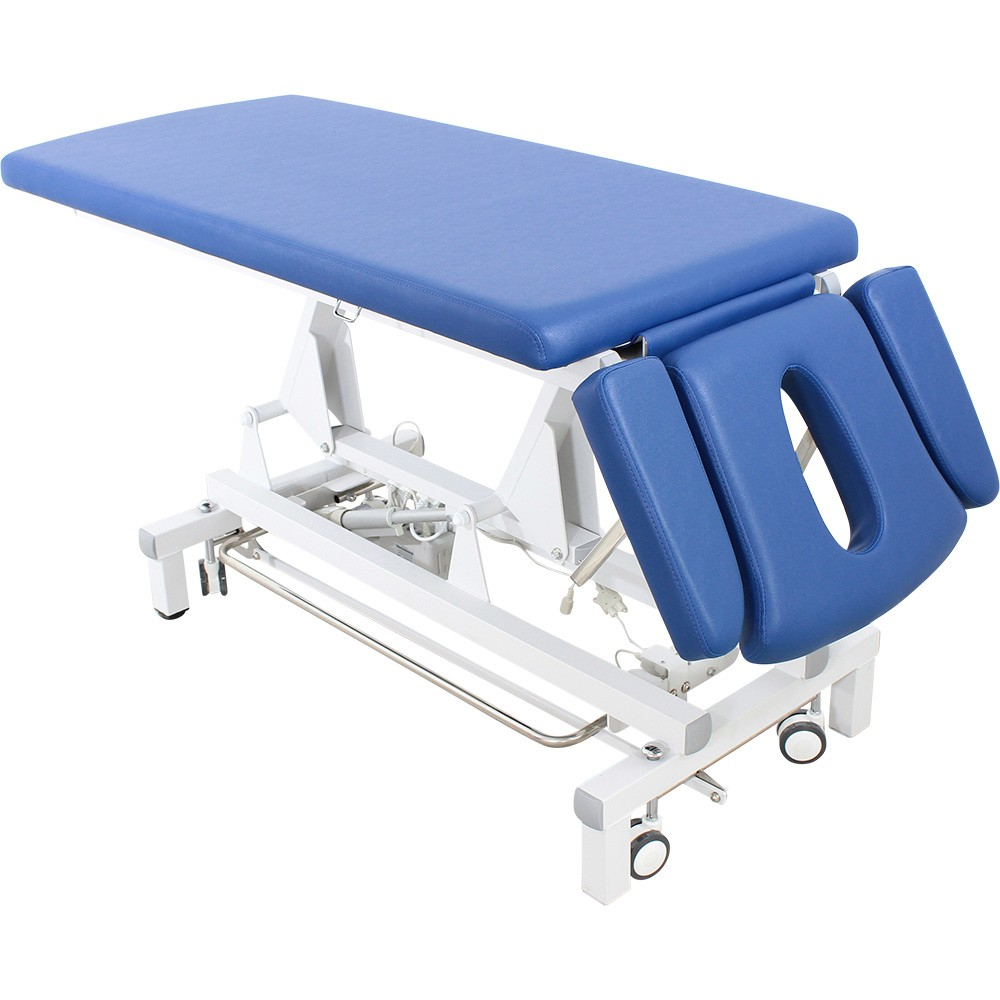 L7d807 Massageliege Behandlungsliege mit Rundumschalter blau