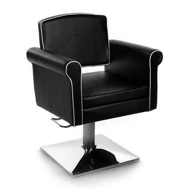 Friseurstuhl 205836 schwarz