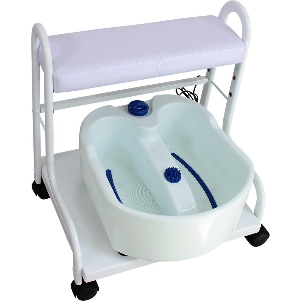 FB0103 Fußpflegestuhl mit Fußmassagebad Fußsprudelbad Fussmassagegerät