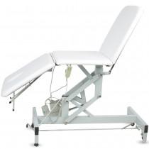 Elektrische / Mechanische Behandlungsliege 003703 weiß