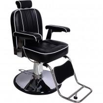 Friseurstuhl 205028 schwarz