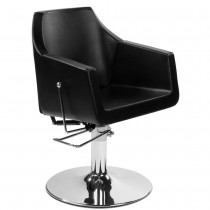 Friseurstuhl 205431 schwarz mit verstellbare Rückenlehne