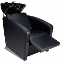 255111 elektrischer Friseurwaschsessel schwarz