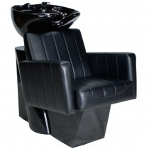 Friseurwaschsessel 255170 schwarz