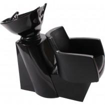 Friseurwaschsessel 255169 schwarz
