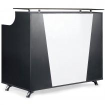 Empfangstresen 450305 schwarz/weiß
