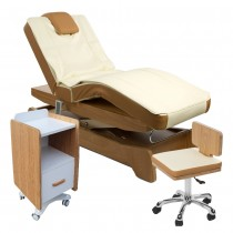 910208 Massagekabine creme / braun