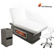 Kosmetikkabine Massagekabine 900897A mit Heizung und Kamin