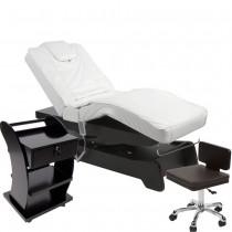 950208a Massagekabine schwarz / weiß