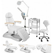 Kosmetikkabine Kosmetikliege Massageliege Kosmetikstuhl Bedampfer 900273