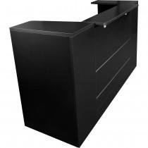 Empfangstresen E5KP60 schwarz Empfangstheke