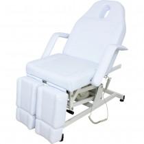 123673AS elektischer Fußpflegestuhl weiß