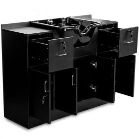 Vorwärtswaschbecken 256018 schwarz