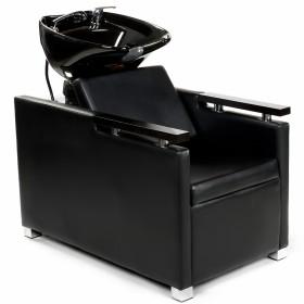 Friseurwaschsessel 255133 schwarz