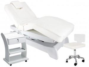 Massagekabine 900208.808 weiß